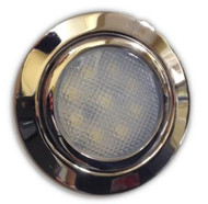 Polished Stainless Steel LED Downlight