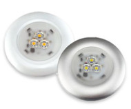 Super-Slim Surface Mount LED Dome Light Fixture