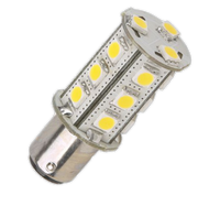 BAY15d LED Replacement for Navigation Lights with Double-Contact Indexed base bulbs