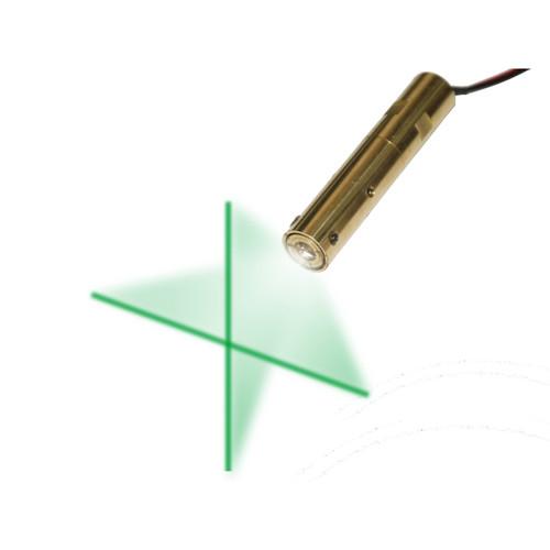 VLM-532-47 LPT, Green Cross-Line Laser, Wavelength: 532 nm