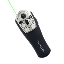 LR-12GR Pro Presentation Remote with red laser pointer and Gyro Mouse