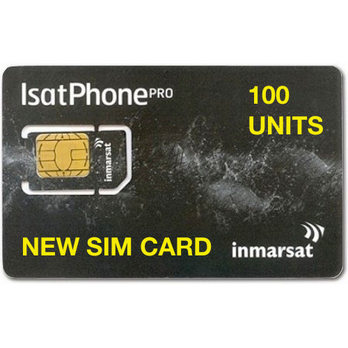 100 Units New SIM Card
