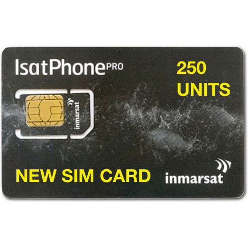 250 Units New SIM Card