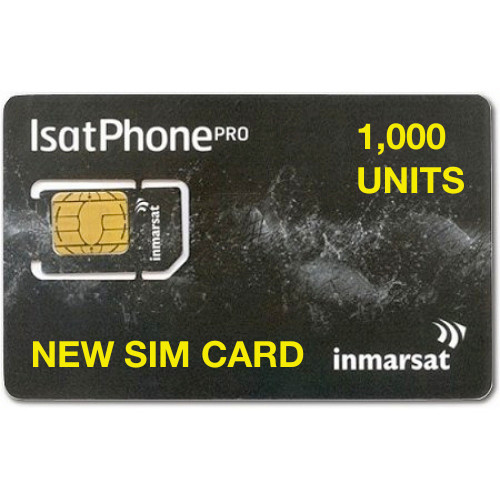 1,000 Units New SIM Card