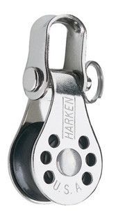 Harken 234 Low-Friction Micro block with attached shackle