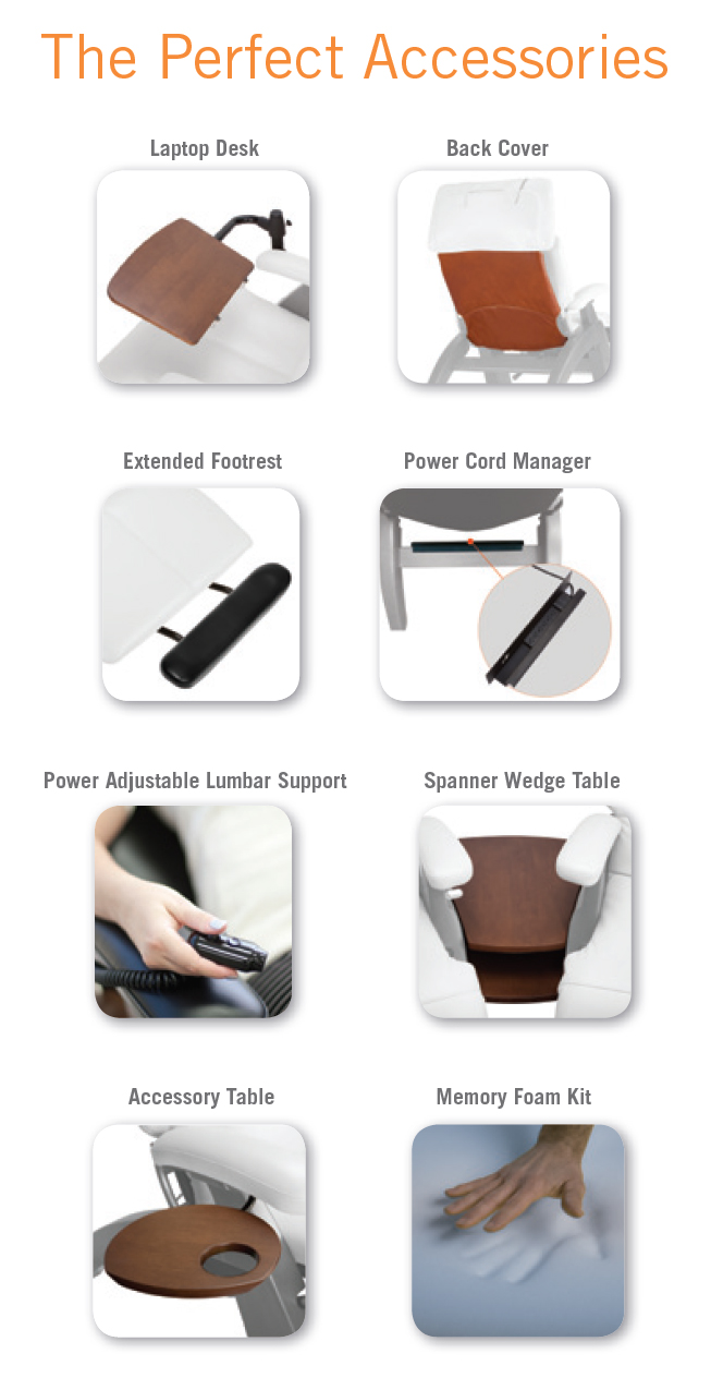 ... Perfect Chair Accessories