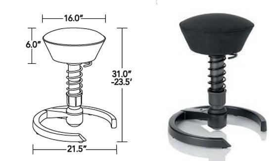 Aeris-Swopper-High-Modern-Standing-Desk-Chair-specifications