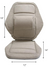 Sacro Ease 2000 Super Deluxe Seat & Back Support