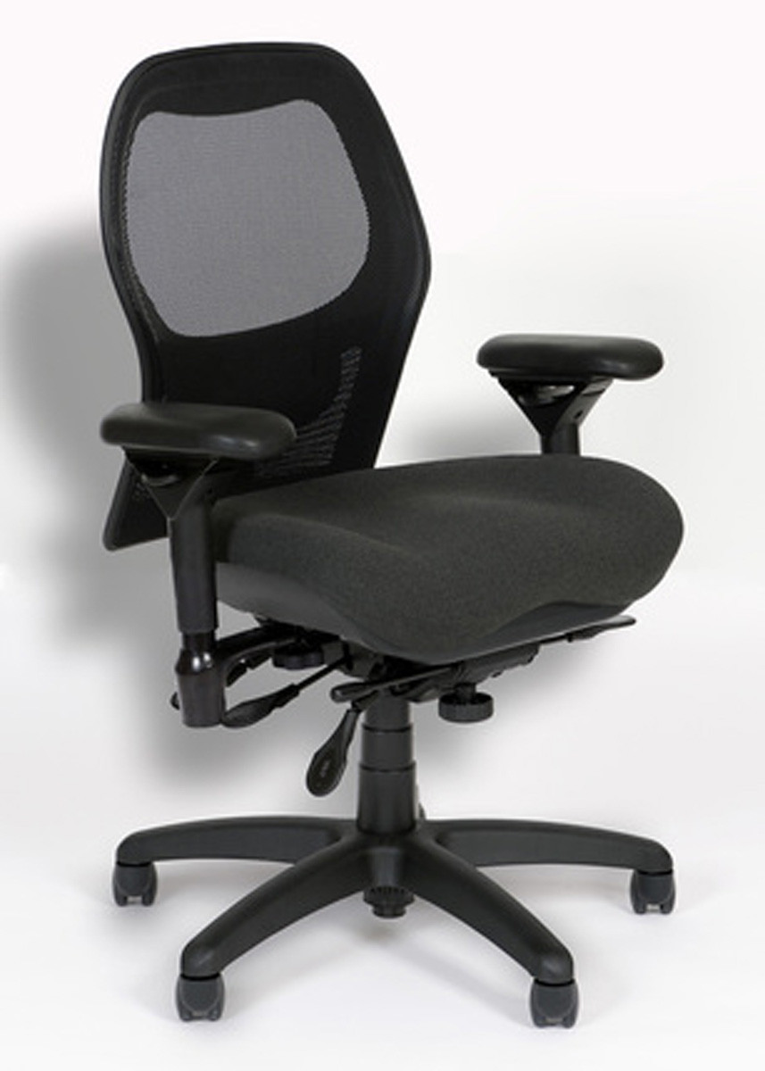 Marvelous BodyBilt Sola Ergonomic Mesh Back Office Chair J2607