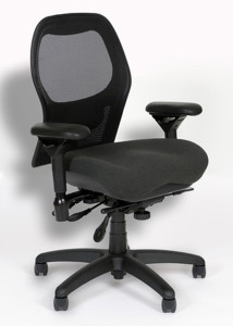 BodyBilt Sola Ergonomic Mesh Back Office Chair J2607