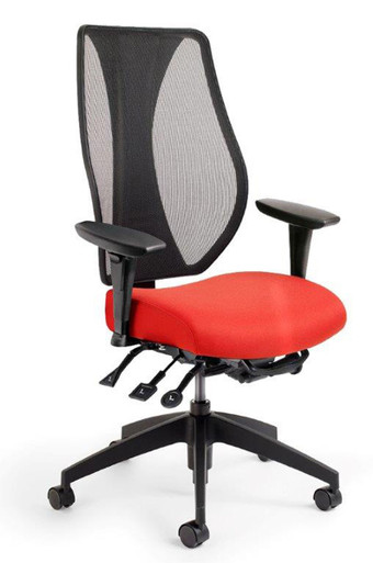 tCentric Hybrid Ergonomic Task Mesh Chair by ErgoCentric
