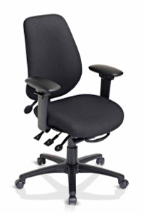 Customize your geoCentric Chair with Mid-Back or High-Back backrest and multi tilt ergonomic function for your office