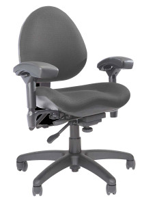 BodyBilt Contour Task Chair Mid Back (Z757) by ErgoGenesis