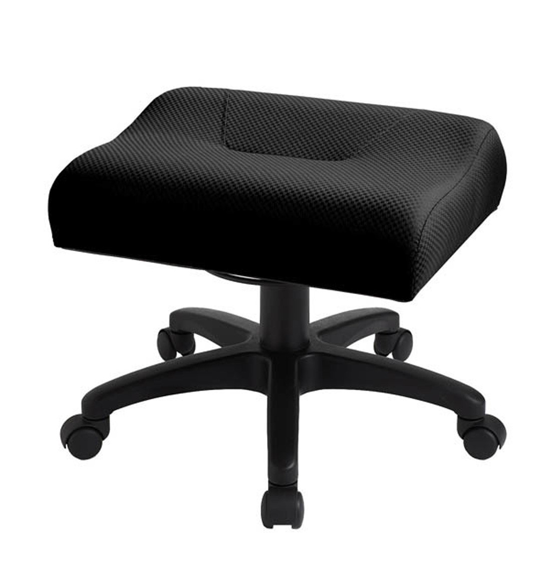 Ergocentric Adjustable Height Leg Rest Padded Foot Stool