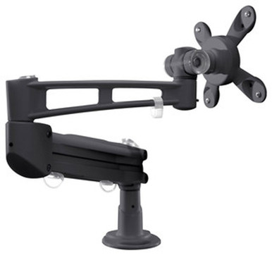 Sit Stand Desk Monitor Arm/Mount A1008 - Anthracite by Unique Furniture