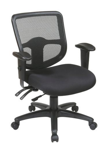 ProGrid Mid Back Black Mesh Swivel/Tilt Task Chair