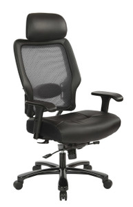 OSP Heavy Duty High-Back Executive Big and Tall Chair