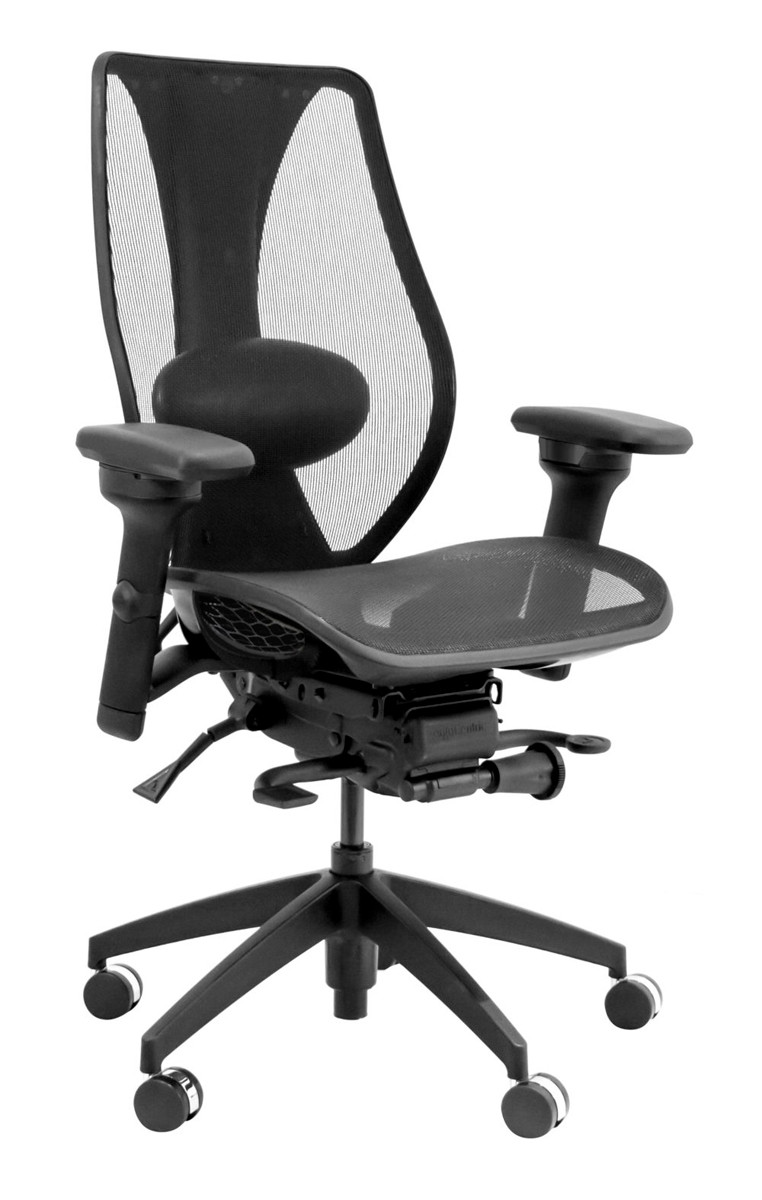 office chair material. TCentric Hybrid All Mesh Ergonomic Office Chair By ErgoCentric Material