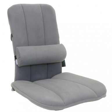 Jobri BetterBack® Ergo Seat, Grey w/ Better Back Pad