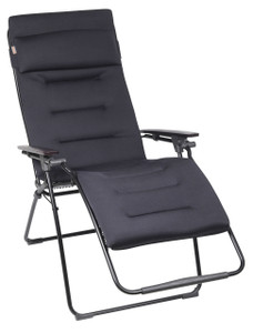 Lafuma LFM 3120 Futura Air Comfort Zero Gravity Chair, Acier