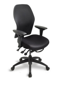ecoCentric Mesh Ergonomic Desk Chair By ergoCentric - Multi fuction adjustment