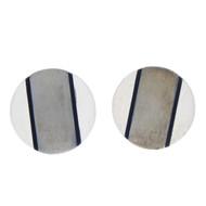 Vintage Ringmaster Large Sterling Silver Cufflinks 925