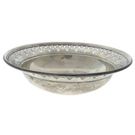 Tiffany & Co. Sterling Silver Reticulated Bowl Circa 1926