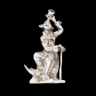 Camusso Vintage 925 Solid Sterling Silver Figural Clown Figurine Peru 53.1g