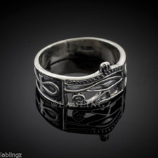 Silver Egyptian Ring.