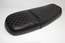Black cover with White diamond pattern