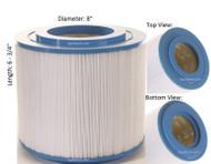 "Master Spas Filter: AK-70022, OEM: X268330, Pleatco: PMA45-2004-R , Unicel: C-8341 , Filbur: FC-1007, Diameter: 8"", Length: 6-3/4"" - FREE Shipping with $79 Order"