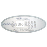 OP11-0100-77, Artesian® Spas, Platinum, Overlay, 4 Pump, Replaced OP11-0105-77