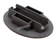 2570-401 Jacuzzi® J-400 Series Pillow Headrest Receptacle Slider Adjustable