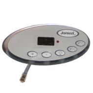2002-2006 Jacuzzi® Hot Tub Spa 2600-322 Topside Control Panel, J-300 & J-200 SERIES LED, 2 PUMP
