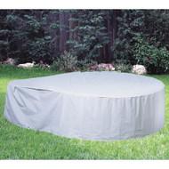 "Softub Model 140 Tub Guard Protective Cover 5 ft, Gray, Vinyl, 60"" x 24"", TubGuard"