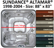 SPA COVER SUNDANCE® SPAS ALTAMAR® 1998-2004