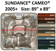 SPA COVER SUNDANCE® SPAS CAMEO® 2005+ Synthetic Cabinet