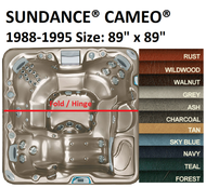 SPA COVER SUNDANCE® SPAS CAMEO® 1988-1995 Wood Cabinet