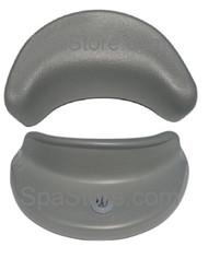 """2012-2018 Artesian™ South Seas Spa Pillow Headrest Replacement Neck 26-0600-85 Light Gray, 8-1/2"""" 965L, 860B, 860L, 853DL, 850B, 850L, 834B, 834L, 766D, 748B, 748L, 743D, 729B, 729L, 627M, 627C, 617C, 533DL, 532L, 521L, 519P"""
