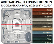 SPA COVER, ARTESIAN SPAS, PELICAN BAY, PLATINUM ELITE