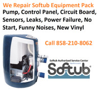 Softub Repair and Service Center- San Diego, CA & Entire U.S.