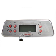 2006-2008 COLEMAN MAAX SPA TOPSIDE CONTROL PANEL 103-741_107-734 DELUXE SERIES MX700 SPAS 6 BUTTONS