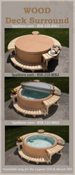 Softub Wood Deck Surround for Softub Models 220