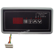 Hydro-Quip, ECO-5, 4 Button, Topside, Control, Panel,8, Pin, Connector, cable, 34-0207, South west spas, southwest spas