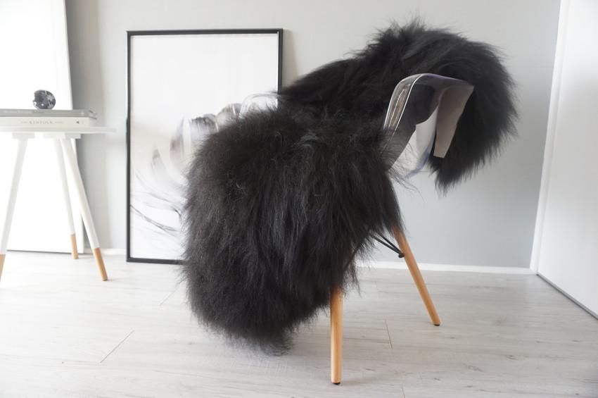 black sheepskin rug. Black / Brown Single Icelandic Sheepskin Rug )