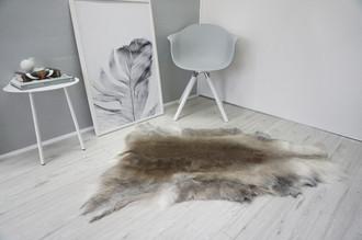 Genuine Super Soft - Extra Large Scandinavian Reindeer Skin Rug  RE 322