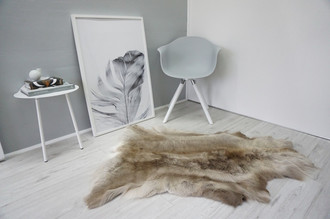 Genuine Super Soft - Extra Large Scandinavian Reindeer Skin Rug  RE 330