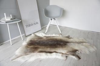 Genuine Super Soft - Extra Large Scandinavian Reindeer Skin Rug  eRE 11