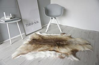 Genuine Super Soft - Extra Large Scandinavian Reindeer Skin Rug  eRE 14