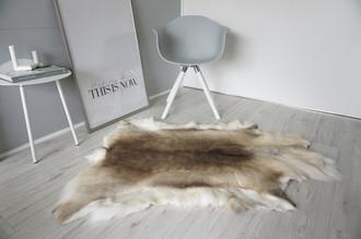 Genuine Super Soft - Extra Large Scandinavian Reindeer Skin Rug  eRE 20
